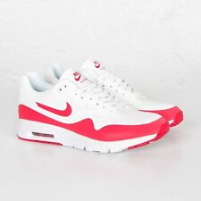 2014 NIKE AIR MAX 1 ULTRA MOIRE US 13 RED WHITE