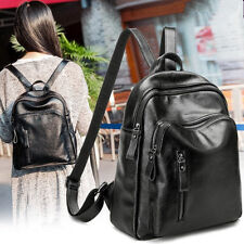 Girl Women's Genuine Leather Backpacks Shoulder Bag School Bag Travel Backpack