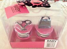 Babys 1st Tooth & Curl Keepsake Trinket Boxes Girl Purse Eyeglasses New