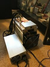 Used Bitmain Antimer L3+ and original Bitmain APW 3++ power supply