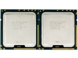 Matched Pair (2 CPUs) Intel Xeon X5680 Six-Core 3.33GHz 12MB Cache SLBV5 AU