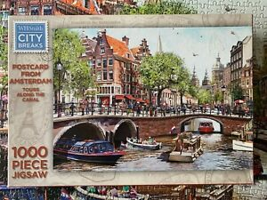 Postcard from Amsterdam - 1000 piece jigsaw - complete