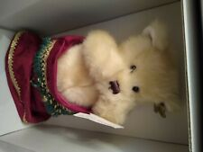 """Annette Funicello """" Hidden In My Stocking"""" Christmas Bear In Box And Paperwork"""