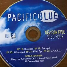 PACIFIC BLUE SEASON 5(DVD) REPLACEMENT DISC #4