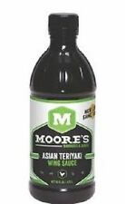 Moore's Asian Teriyaki Wing Sauce 16 oz