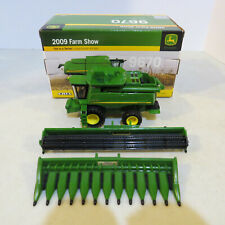 Ertl John Deere 9770 STS Combine 2009 Farm Progress Show 1/64 JD-45175A-B
