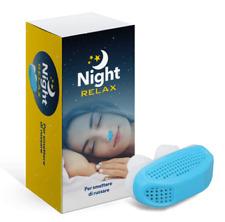 NIGHTRELAX originale. NIGHT RELAX , per dormire sereni, aiuta la respirazione.