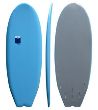 SOFT SURFBOARD - SOFT BOARD - POCKET - blue - 5'0''x 21 1/4''x 2 3/8'' 33.9 ltr