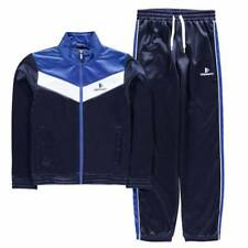 Donnay Poly Tracksuit Infant Age 5-6 Years Navy TD181 AA 04