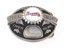 ATLANTA BRAVES TAILGATER BELT BUCKLE 21100 new baseball sports belt buckles