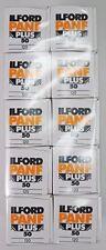 Ilford lot de 10 films PANF 120 50 ISO,  utilisable jusqu'à juillet 2018