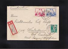 DDR, Reco Brief Saalfeld 1951 nach Burbach