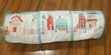 Collapsible Crinkle Cat Pet Tunnel - 3 Feet - Holiday Christmas Design