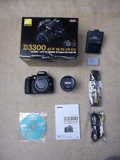 NIKON D3300 SLR, 24.2 Megapixel, Objektiv Nikon 18-55 mm, Neuwertig TOP & OVP
