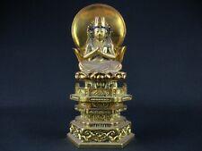 Japanese Japan,Buddhism Buddha statue Shingon.Shu Dainichi Nyorai 20cm に
