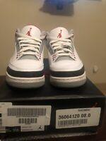 Air Jordan 3 Retro Fire Red 2013