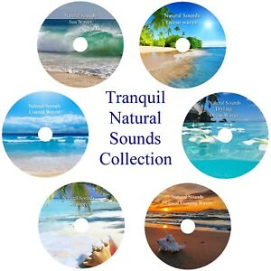 Sea Ocean Waves 6 CD Relaxation Collection Stress Anxiety Relief Help Sleep