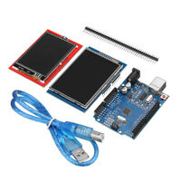 "UNO R3 Board + 2(2.4""-2.8"") TFT LCD Touch Screens Display Module Kit For Arduino"