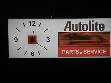 Autolite  Lighted Clock
