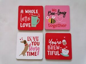 MOTHERS DAY - PRESENT - TEA & COFFEE - COASTERS - WOMEN - HOME - WORK - TRAVEL