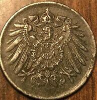 1916 GERMAN 5 PFENNIG