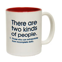 Funny Mugs There Are Two Kinds Of People Geek Geeky Nerd Nerdy Gamer NOVELTY MUG