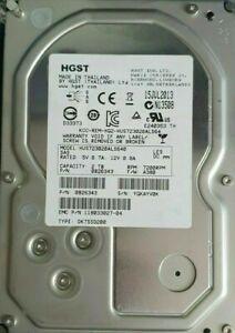 """HGST HUS723020ALS640 2TB 7.2K RPM 3.5"""" ENTERPRISE SAS HARD DRIVE 0B26343 A380"""