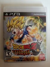 Dragon Ball Z: Ultimate Tenkaichi (Sony PlayStation 3, 2011) NO SCRATCH ON CD