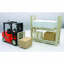 Ferngesteuerter Gabelstapler 1:14 + Regal Lagersystem/ Waren