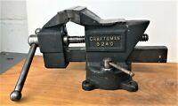 """Vintage Craftsman 5240 - 3"""" Wide Anvil Vise with Rotating Base"""