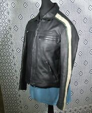 HEIN GERICKE SpeedWare Leather Motorcycle Jacket Cafe Racer Retro style L