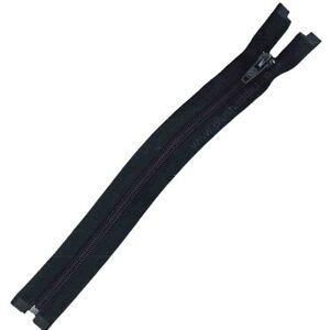 Nylon Open Ended Zip Black