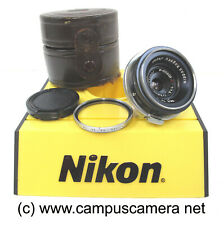 "Nippon Kogaku W-NIKKOR C 2.8cm f/3.5 ""EP"" Lens for Nikon S & SP Rangefinders"