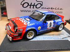 PORSCHE 911 Carrera SC Tour de Corse Rally 1980 esso THERIER RAR otto 1:18