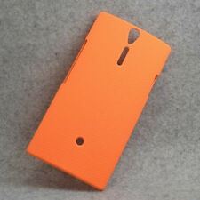 For Sony Xperia S Arc HD lt26i Orange Snap On Hard Case Back Cover