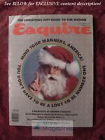 ESQUIRE December 1977 Etiquette Manners Brian Froud John Kenneth Galbraith
