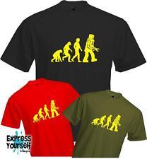 Evolution to Robot - Big Bang Theory - Sheldon Cooper - Funny - Quality T-shirt