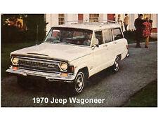 1970 Jeep Wagoneer  Refrigerator  Magnet