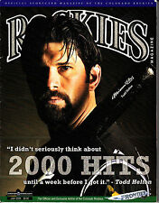 Rockies Magazine July 2009 Colorado Rockies Todd Helton Sports Baseball
