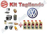 KIT TAGLIANDO OLIO + FILTRI VW SCIROCCO 1.4 TSI BENZINA  90KW