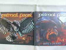 Primal Fear- Jaws of Death/ Devil´s Ground- 2 Digibooks- Nuclear Blast 1999/2004