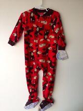 Carter's Baby Fleece Long Sleeve Blanket Sleeper Pajamas size 24 Mos NWT B5546