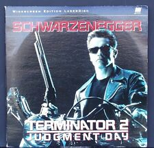 Terminator 2 Judgment Day  Schwarzenegger LaserDisc