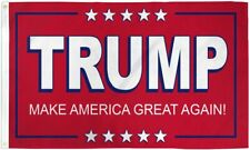 Make America Great Again Donald Trump Flag MAGA 3x5ft Re-Elect USA President Red