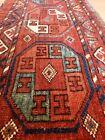 Very Rare Antique Hand Made Turkoman Turkemen Torba Bag Rug Size 96x39