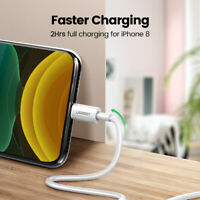 Ugreen MFI Fast Charging USB Lightning Charger Cable For iPhone XS 8 6s SE iPad