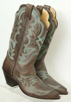 Justin NEW BRL121 Taupe America Narrow Square Toe Cowboy Boots Women's US 8 B