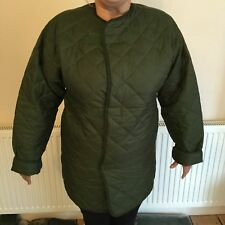 new british army liner smock jacket cold weather 190/112 very warm horse riding