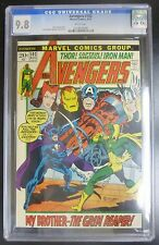 Avengers #102 Marvel Comic CGC 9.8 White Pages