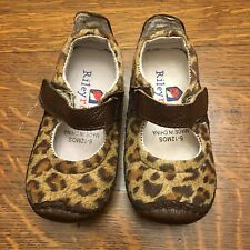 Riley Roos Shoes 6-12 Months Baby Infant Girls Leopard Halloween Cat Sneaker